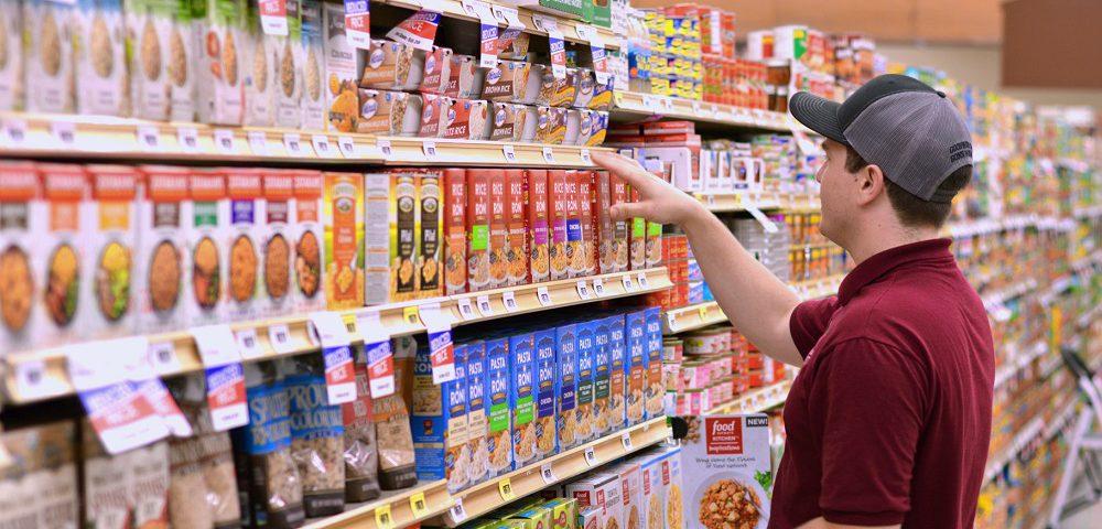 مدیریت موجودی در سوپرمارکت