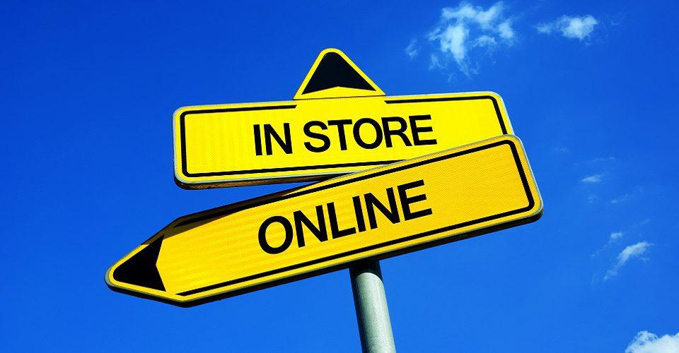 ترجیح خرید از مراکز خرید به خرید آنلاین