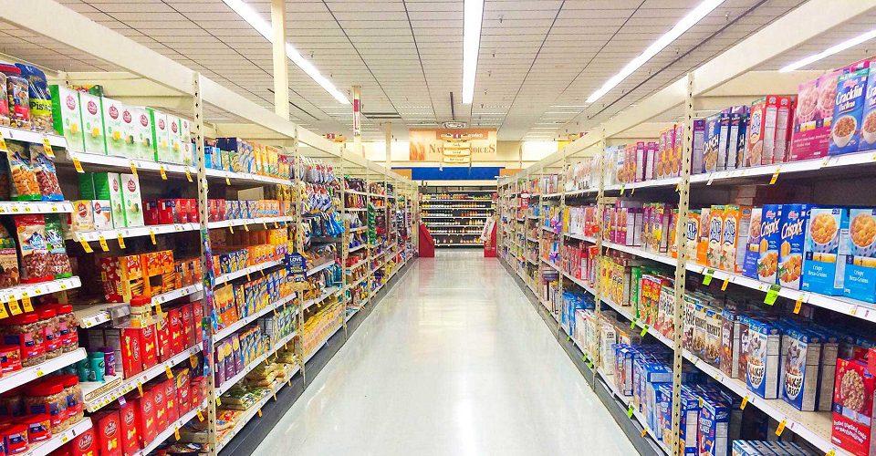 مرچندایزینگ و چیدمان قفسه های سوپرمارکت